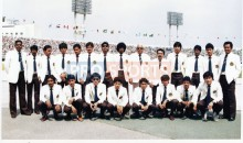 Malaysias National Football Team to the 1985 Presidents Cup in Seoul